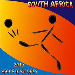 South Africa 2010 Soccer Scores - App Logo